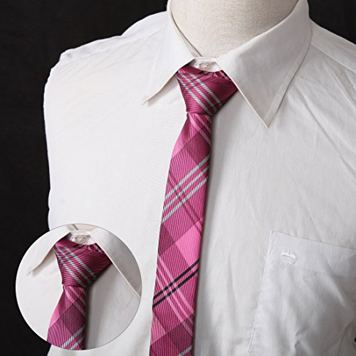 DANF0048 Various Colors Polyester Slim Ties Love Shopstyle Skinny Ties - 5 Styles Available Selection Accessories By Dan Smith by Dan Smith (Image #2)