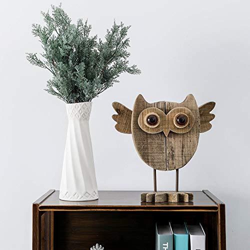 Buy wooden owl statue