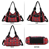 Women Handbags Shoulder Bags Washed Leather Satchel