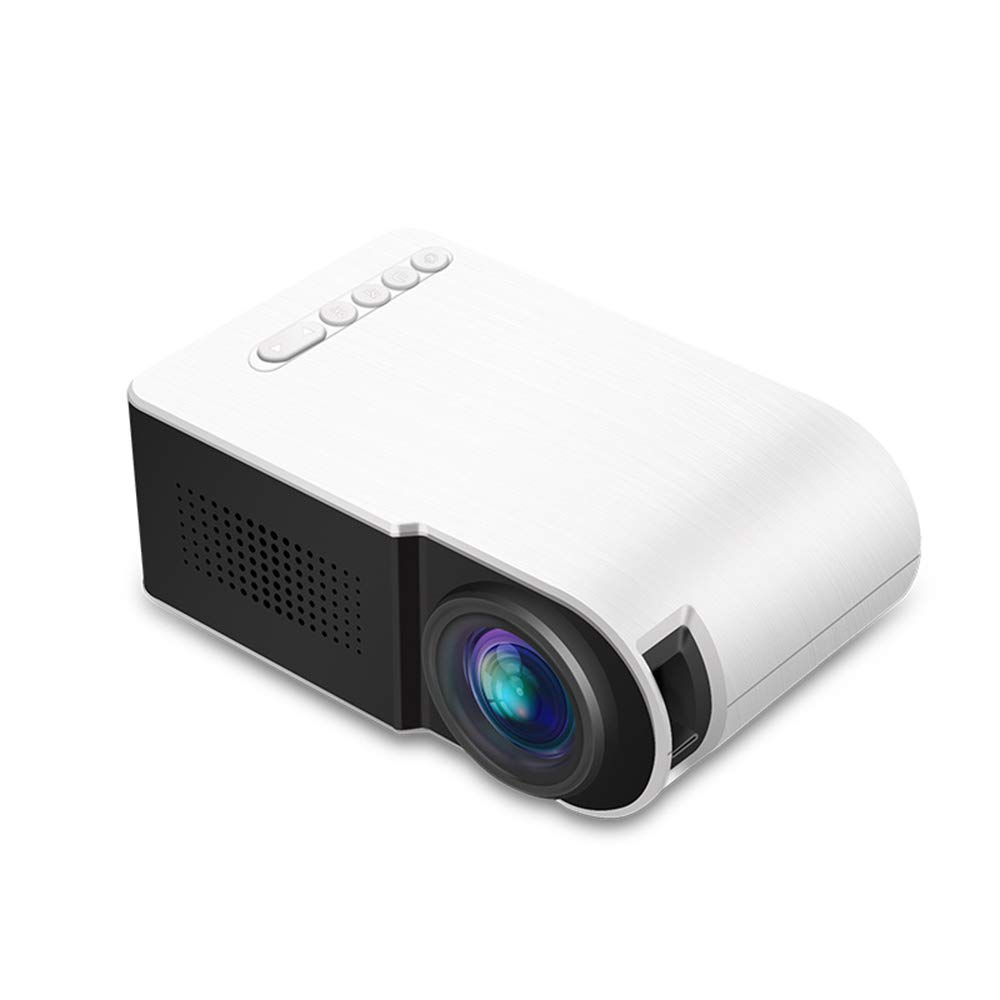 Home Theater Projector Mini Projector LED Mobile Multimedia Video Projector with AV//USB//SD for Home Cinema Entertainment Outdoor Movie /& Gaming,Blue
