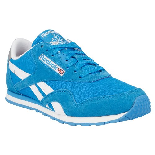 Reebok - Cl Nylon Slim Pop - Color: Blue-White - Size: 6.0US