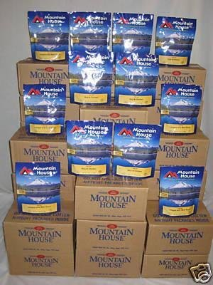 Mountain House Freeze Dried Food 26 Cases - 192 Pouches 363 Servings - Complete -