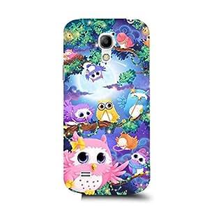 Custom Design Owls Phone Case for Samsung Galaxy S4 Mini Owls Lovely Design