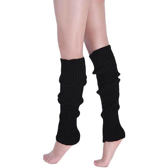 Malloom® Nuevas mujeres manera Calentar Invierno Clásico calentadores de la pierna Calcetines de tejer Medias