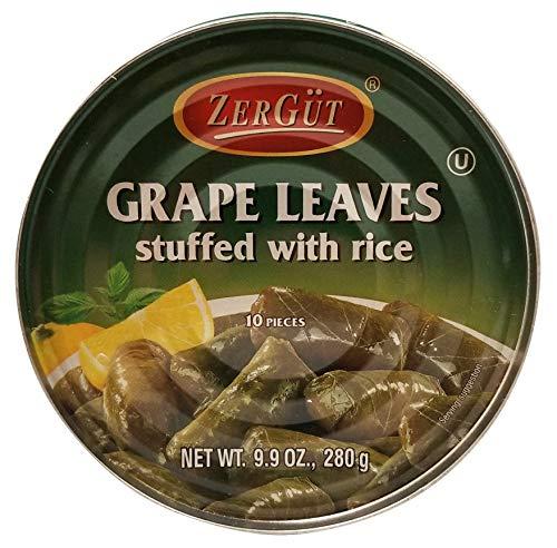 ZerGut, Grape Leaves Stuffed with Rice, 9.9 oz