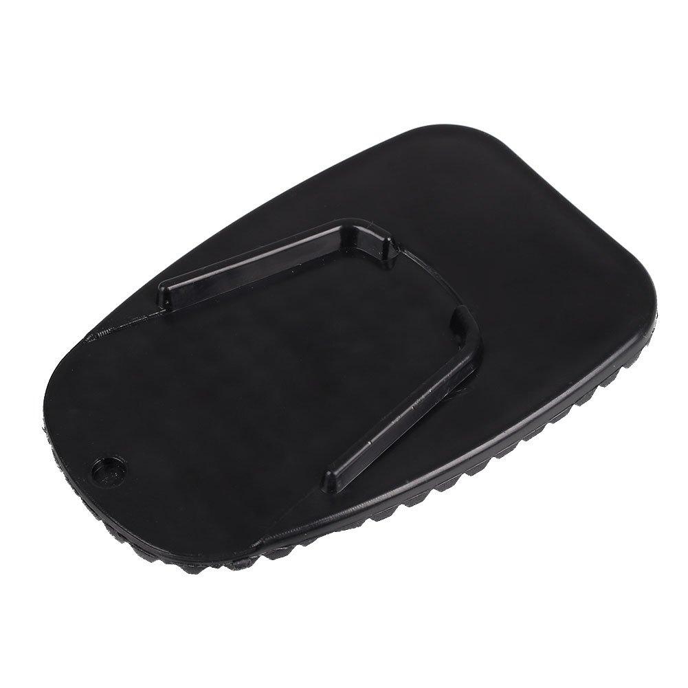 Sedeta/® plaque support moto Moto Side B/équille antid/érapante plaque de base b/équille de stationnement Support en plastique pour Harley Pad P/édale support antid/érapant base de moto plaque anti-d/érapant