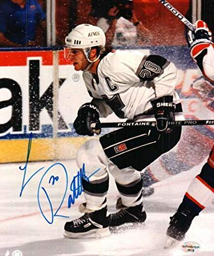 - Autographed Signed Luc Robataille Los Angeles Kings 8x10 Photo - Certified Authentic