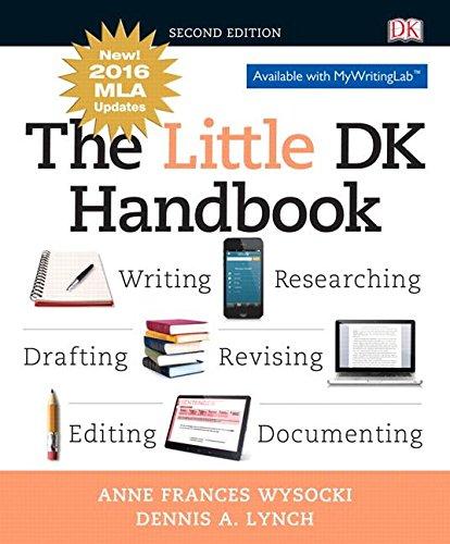 Little Dk Handbook,Mla Update Edition