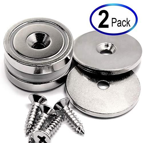 (Neodymium Cup Magnets Dia 1.26