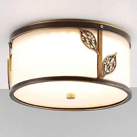 YHSGD LED Ultra-Delgada lámpara de Techo Redonda Simple ...
