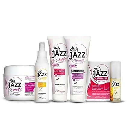 Pelo Jazz Champú, loción, máscara y crecimiento del cabello Vitaminas