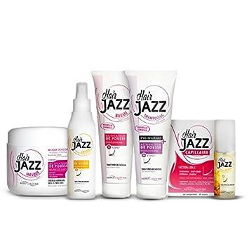 Pelo Jazz Champú, loción, máscara y crecimiento del cabello Vitaminas: Amazon.es: Belleza