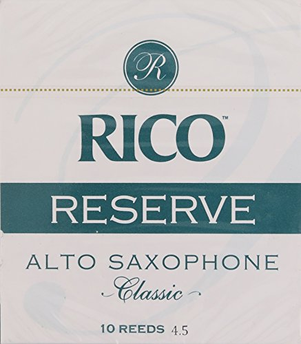 Rico Reserve Classic Alto Sax, Strength 4.5, 10-pack