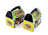 Ifavor123 Superhero Party Favor Treat Boxes for