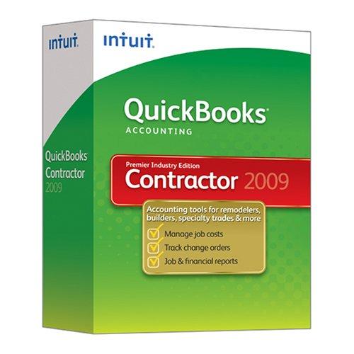 QuickBooks Premier Contractor Edition 2009 [OLD VERSION]