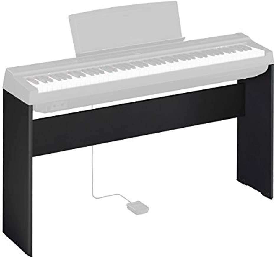 Yamaha L-125 - Soporte compacto de madera para piano digital Yamaha P-125, color Negro