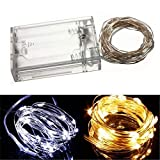 ights & Lighting - Warm White/Pure White 3m 30led Copper Wire Led String Lights Lamp 5v - Led Copper Wire Lights Battery Powered 99 Feet String Red 10m Light Bottle Stopper 20m b