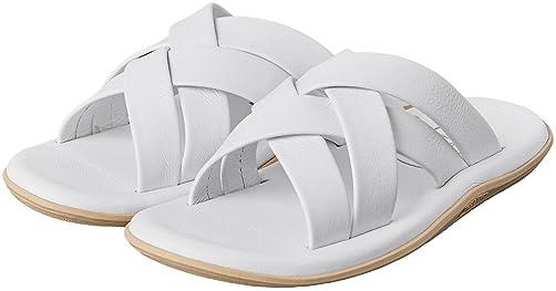 Slide Sandals 1331-499-9010: White