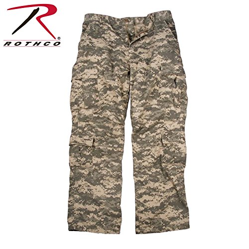 Rothco Vintage Paratrooper Fatigues, ACU Digital, X-Large (Women Army Uniforms)