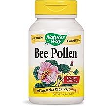 Nature's Way Bee Pollen, 580 mg, 100 Capsules