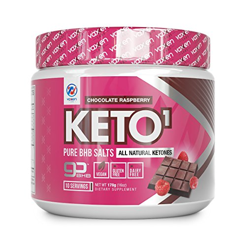 Exogenous Ketones Supplement with Beta Hydroxybutyrate BHB Salts for Ketogenic Diet - Keto Powder Drink to Help Reach Ketosis, Weight Control, Reduce Stress, Boost Energy (Chocolate Raspberry 10 SRV)
