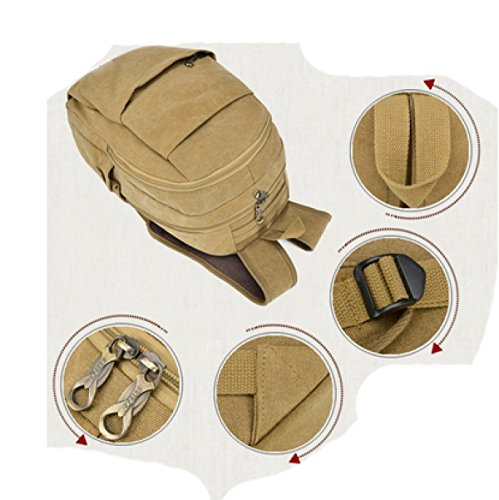 Leisure purpose Men Multi Beige Laidaye Business Backpack Travel Igqvv8Y