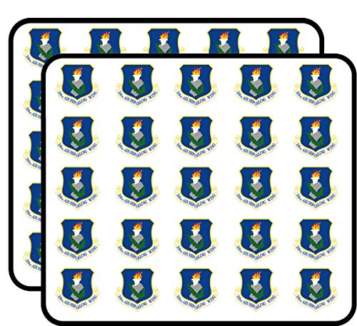 - US Air Force 108th Air Refueling Wing Vinyl Transfer Decal Military Veteran Served 50 Pack Sticker for Scrapbooking, Calendars, Arts, Album, Bullet Journals and More 1