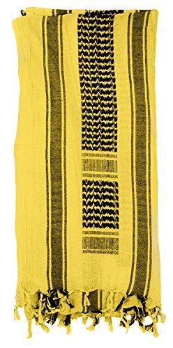 (Mato & Hash Military Shemagh Tactical 100% Cotton Scarf Head Wrap - Desert Sand CA2100JUMBO)