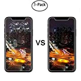 [3-Pack] [ 5.8 inch ] iPhone X Screen Protector