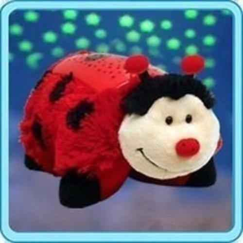 "Pillow Pets Dream Lites - Ms. Ladybug 11"""
