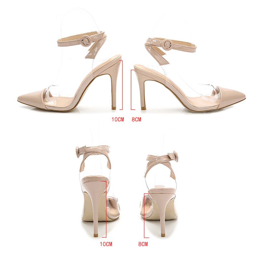 D'estate Alto Female Scarpe Tacco Sandali A Single Shoes Puntavano XOqxY