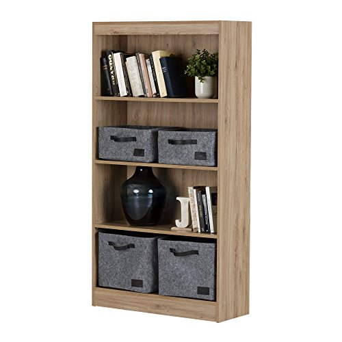 South Shore 4-Shelf Storage Bookcase, Natural Maple by South Shore (Image #4)