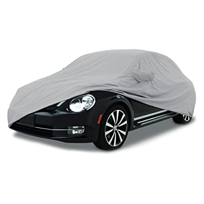 CarsCover Custom Fit 2011-2020 Volkswagen Beetle Car Cover for 5 Layer Ultrashield Waterproof VW Beetle : Automotive