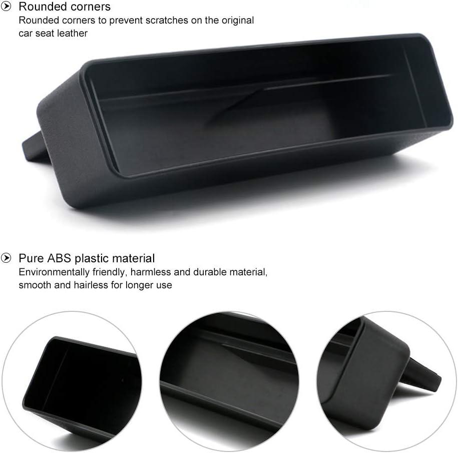 Dreaming casa Auto Organizer Premium Leder Auto Seiten-Schlitz Taschen Aufbewahrungsbox f/ür Handy M/ünzen Schl/üssel Kreditkarten