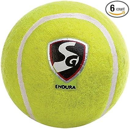Pro Impact Heavy Cricket Tennis Balls 6 Balls Team Sports