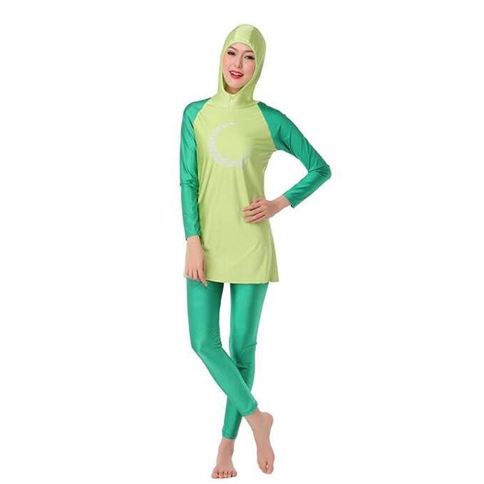 Le ragazze islamico musulmano Costumi da bagno modesto Burkini Copertura Completa Bambini Costume Da Bagno