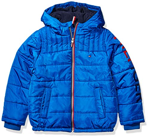 Tommy Hilfiger Boys' Big Mason Jacket, Blue, X-Large (20)