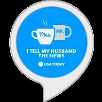 I tell my husband the news
