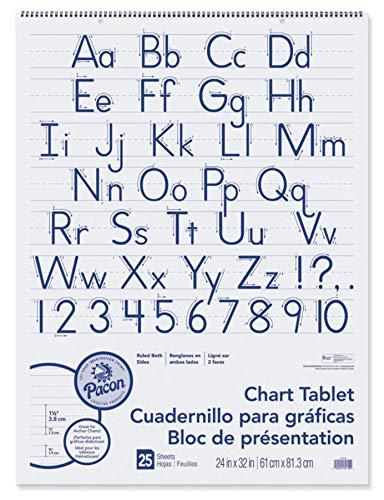 PAC74710 - Chart Tablets w/Manuscript Cover ()
