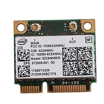 Yintiod - Tarjeta WLAN para Lenovo 60Y3230, 8540W, 2540P ...