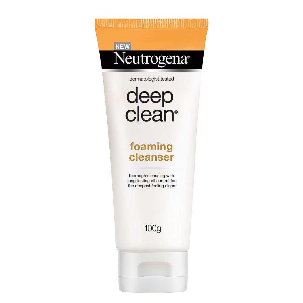 Neutrogena Deep Clean Foaming Cleanser For Normal To Oily Skin,