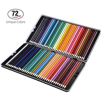 Amazon.com: Crayola Color Escapes Colored Pencils, 72 Count, Adult ...