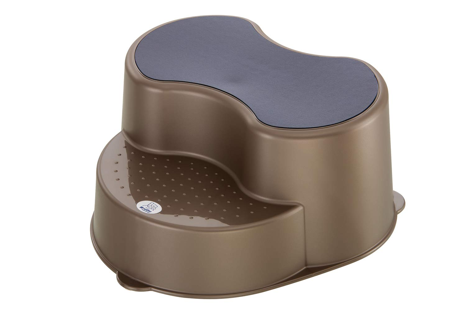 Rotho Babydesign TOP Children's stool, Anti-slip surface, TOP, Taupe Pearl (Brown), 200050207 20005 0207