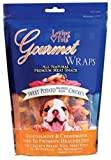 Loving Pets All Natural Premium Sweet Potato and Chicken Wraps with Glucosamine and Chondroitin Dog Treats, 8 oz, My Pet Supplies