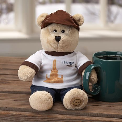 Starbucks Bearista Bear - Destination Series 2010 - Chicago