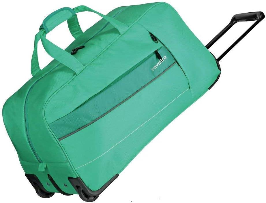 Travelite Extremadamente Ligero: Kite - Trolleys clásicos y Deportivos, Bolsos de Viaje y Bolsos de a Bordo, Bolsa de Viaje, 64 cm, Verde Hierba (Verde) - 089901-83