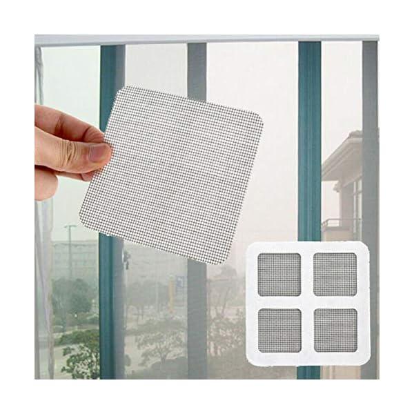 Patch anti-zanzara maglia appiccicosa Patches finestra estiva zanzariera patch riparazione fori rotti sullo schermo… 3 spesavip