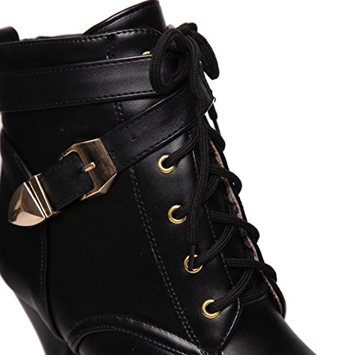 AIYOUMEI Women's Classic Boot Black Vcfn7fhhx