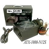 SHARK TECHNOLOGY® 1000W Black ATX12V EPS12 Silent 120mm Fan Gaming PC 2x PCI-E Power Supply ATX PSU
