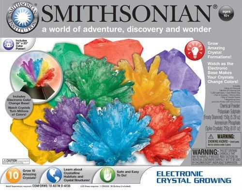 (Smithsonian Electronic Crystal Growing by Smithsonian)